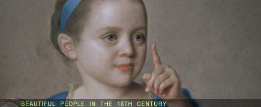 beautiful people in the 18th century