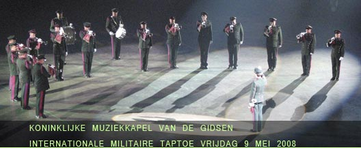9 mei 2008: internationale Taptoe